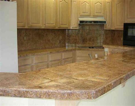 materials  kitchen countertops