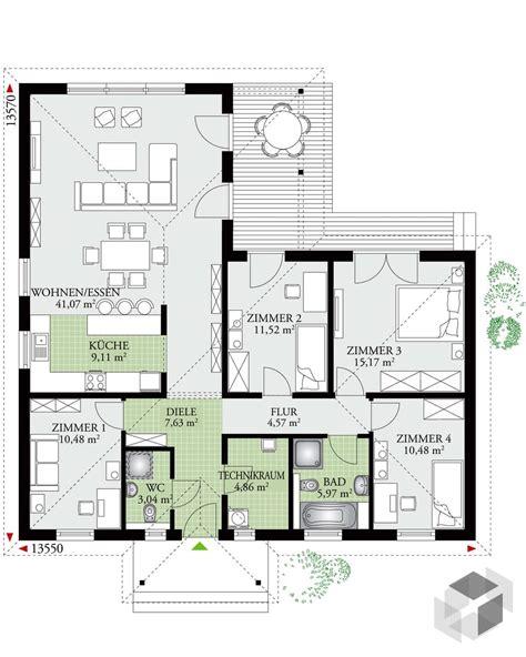 Danwood Hausbau by 124 Dan Wood Bungalow Walmdach Haus