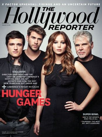 hunger games cast pictures   hollywood reporter