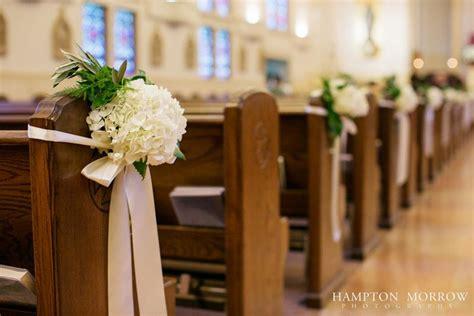 Hydrangea Pew Flowers Holy Trinity Catholic Church