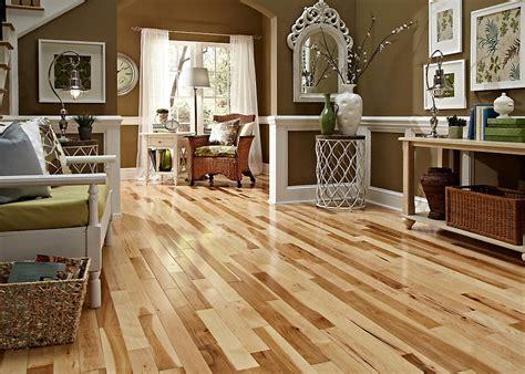 wooden floor in kitchen 3 4 quot x 2 1 4 quot hickory builder s pride lumber 1620
