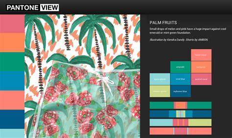 pantone view sunfaded tropics summer 2015 color
