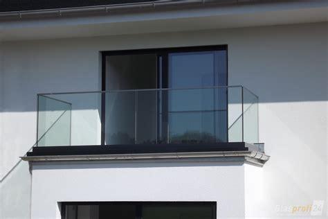 Glas Rahmenlos by Balkongel 228 Nder Mit Schmalem Profil Glasprofi24