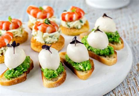 reparation canape canapé cocktail finger food catering brisbane