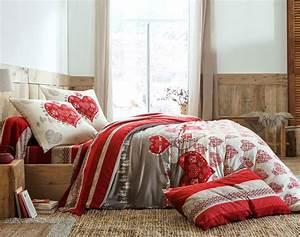 Parure De Lit Noel : linge de lit fantaisie housse de couette parure de lit becquet ~ Preciouscoupons.com Idées de Décoration
