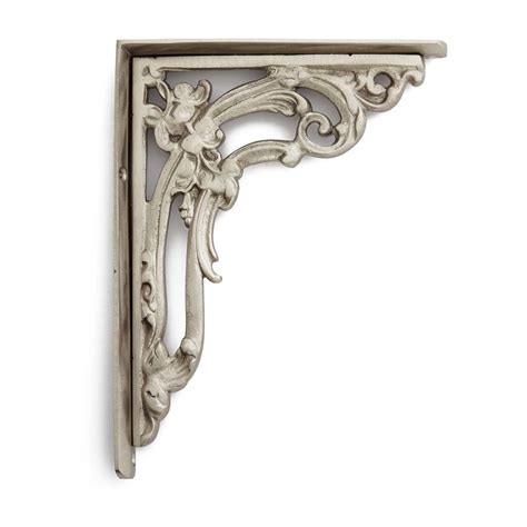 brass shelf brackets brass shelf bracket signaturehardware