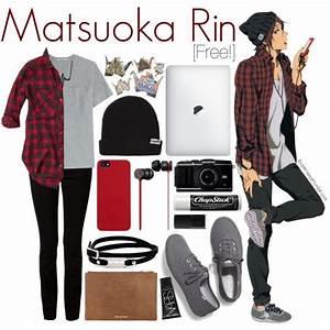 Mastuoka Rin [Free!] | Anime-Inspired Clothing | Pinterest | Keds Abercrombie fitch and Nars ...