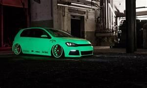 Neon Green VW Golf Mk7 VW Golf Tuning