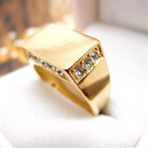 gold ring design for male in pakistan gold ring style
