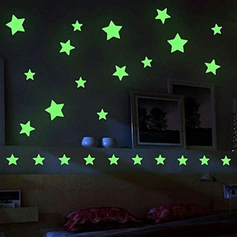 etoiles fluorescentes plafond chambre preisvergleich mture aufkleber wandsticker sticker