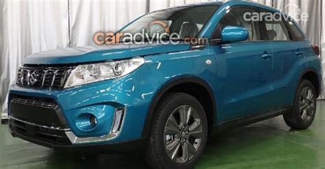 2019 Suzuki Vitara (facelift) Leaked, Could Debut At 2018