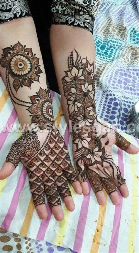 indian eid mehndi designs collection 2018 2019
