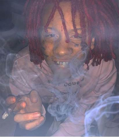 Trippie Redd Wallpapers Aesthetic Smoking Trippy Couple