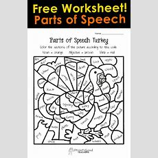 Thanksgiving Parts Of Speech Worksheet  Squarehead Teachers