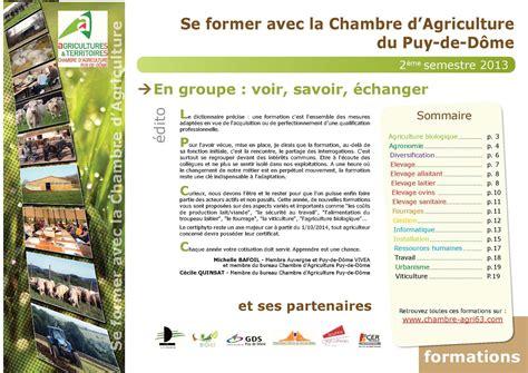 chambre agriculture 63 calaméo catalogue formation 2e semestre 2013