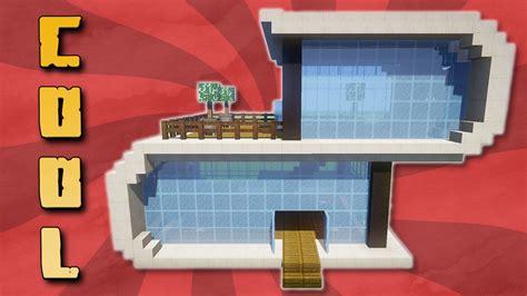 Modernes Haus In Minecraft Pe Bauen by Cooles Modernes Haus Bauen In Minecraft Bauen Mit