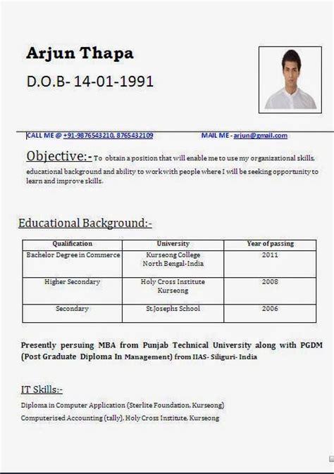 Detailed Curriculum Vitae by Curriculum Vitae Template Australia Sle Template