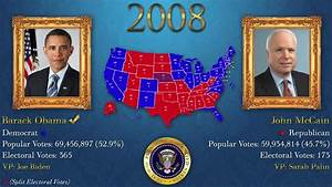 U.S. Presidential Elections 1789-2012 - YouTube