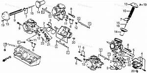 Honda Motorcycle 1982 Oem Parts Diagram For Carburetor