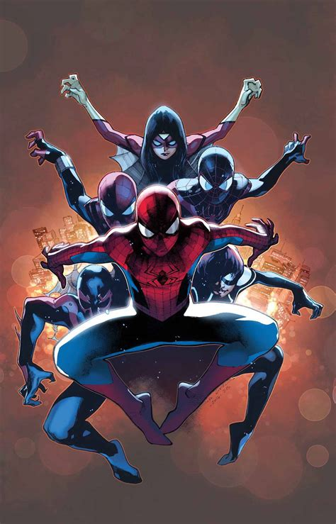 """Comics """"spiderverse"""" Begins In First Look At Amazing"""