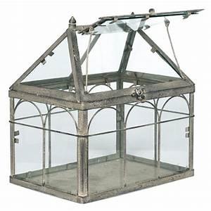 Serre D Intérieur : mini serre d 39 interieur greenhouse conservatory serre invernadero pinterest terraria ~ Preciouscoupons.com Idées de Décoration