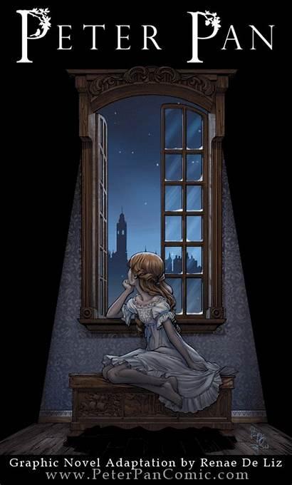 Peter Pan Novel Graphic Wendy Renae Liz