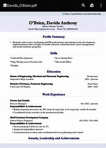 cv builder for smart resumes android apps on google play With smart resume builder