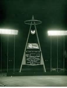 Anaheim Stadium Big a Scoreboard