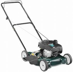 125cc 20 U0026quot  Self Push Walk Behind Gas Propelled Blade Lawn