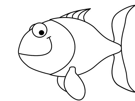 fish drawings cartoon clipartsco