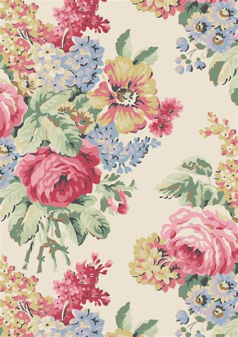 1000 ideas about floral fabric on vintage