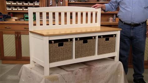 Mudroom Bench Storage