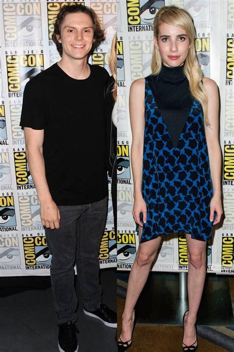 優れた Emma Roberts Evan Peters Engagement - サガトマゲ