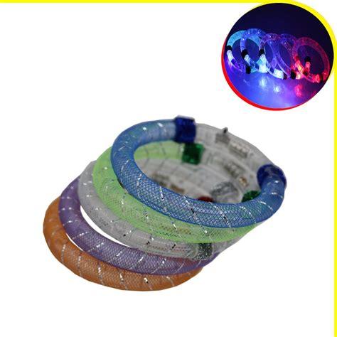 jual gelang led aksesoris tangan unik glow perhiasan pesta sulap show brace di lapak ia shop