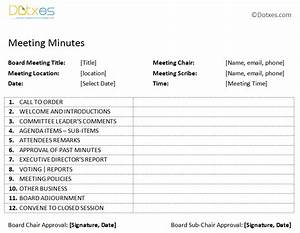 free printable meeting minutes templates search results With how to take minutes at a board meeting template