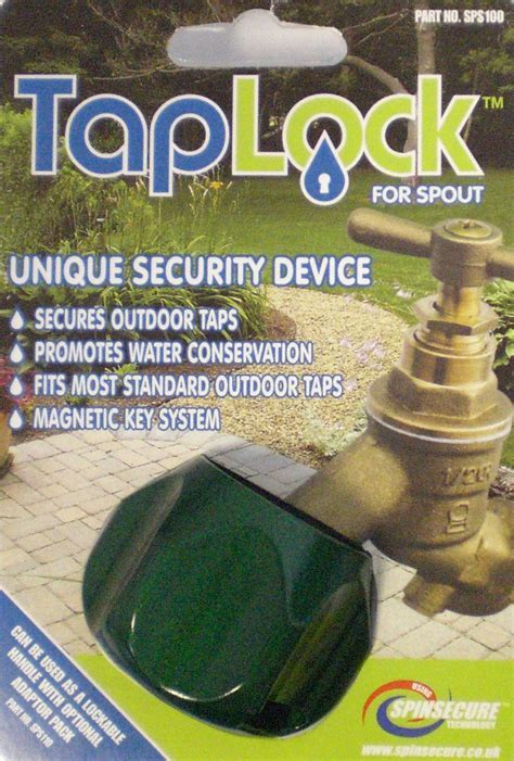 Outdoor Water Faucet Lock