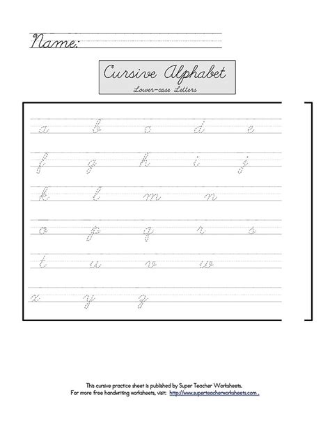 super teacher worksheets free lean into it tools for teaching tots cursive if their schools