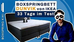 Ikea Dunvik Test : boxspringbett dunvik test von ikea mit fazit nach 33 ~ Watch28wear.com Haus und Dekorationen
