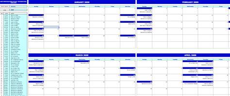 monthly event calendar exceltemplatenet