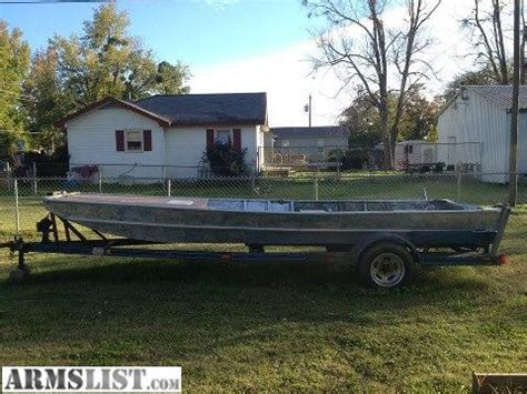 Bowfishing Boats For Sale In Oklahoma by Armslist For Sale Trade 18 Ft Flat Bottom