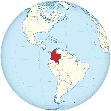 File:Colombia on the globe (Colombia centered).svg ...