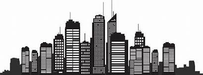Silhouette York Skyline Cityscape Clipart Clip Transparent