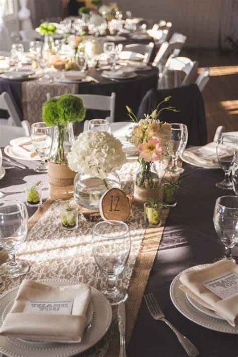 shabby chic pink wedding rustic wedding table