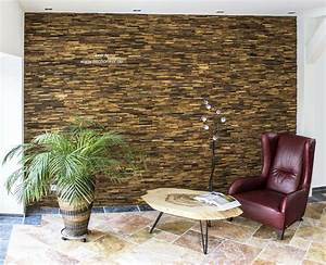Wandverkleidung Aus Recyceltem Holz Der Tischonkel