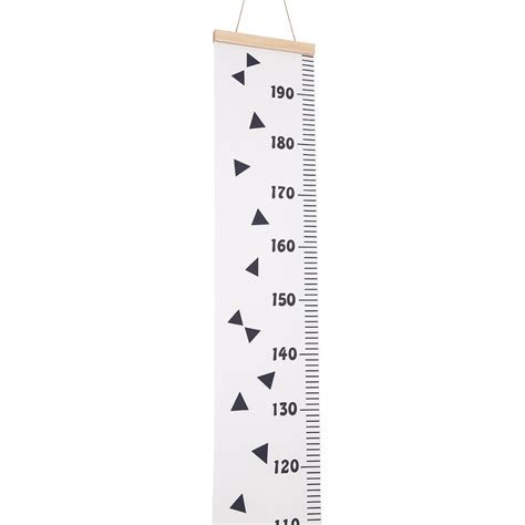 Baby Frame Ruler Height Growth Chart Hanging Rulers Kids