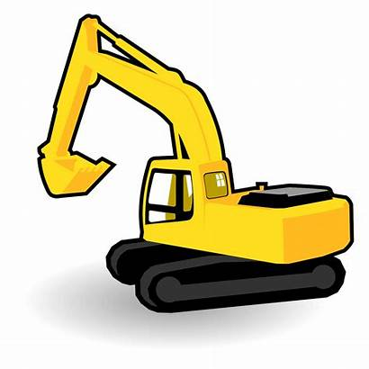 Excavator Clipart Vector Clip Clipground Category Cliparts
