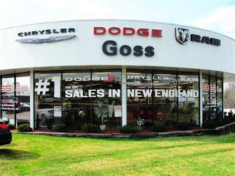 Goss Dodge Chrysler car dealership in South Burlington, VT