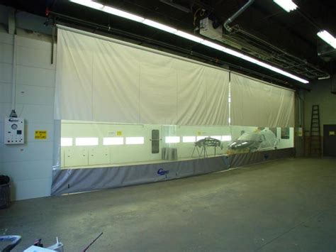 roll up curtains industrial curtain walls