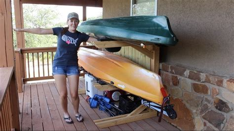 how to make a kayak rack building a kayak rack yak rak
