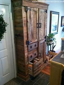 pallet storage cabinet ideas pallet furniture projects